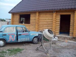 Дом из сруба, г. Днепропетровск